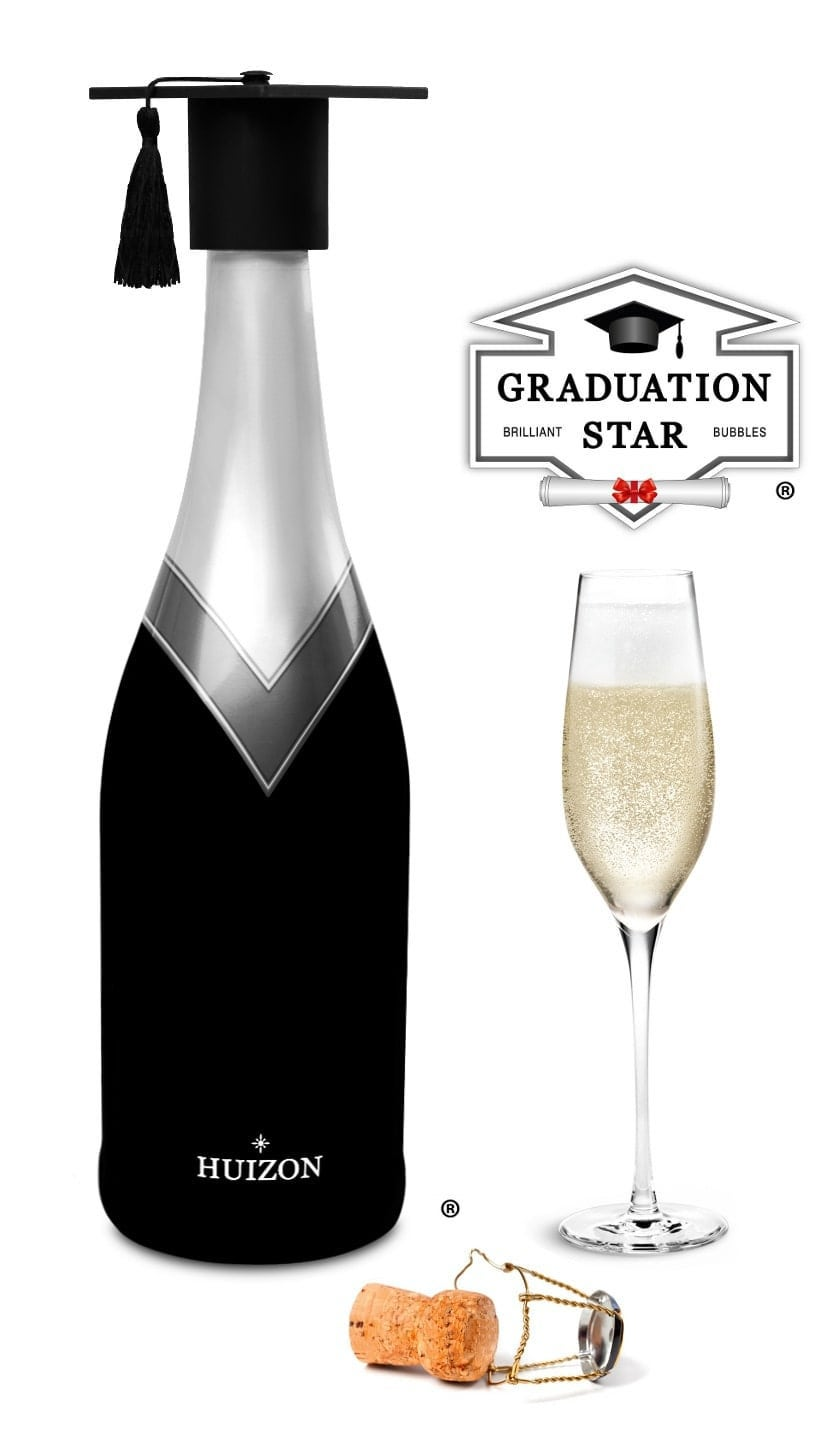 Geslaagd Cadeau Afstuderen Afstudeerhoed Champagne